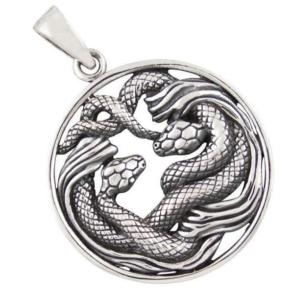 Schlangen Anhänger Silber 925