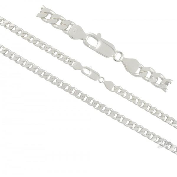 Panzerkette, Halskette Silber 925