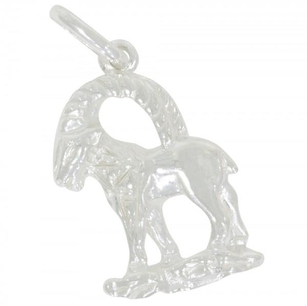 Tierkreiszeichen Sternzeichen Steinbock, Anhänger Silber 925