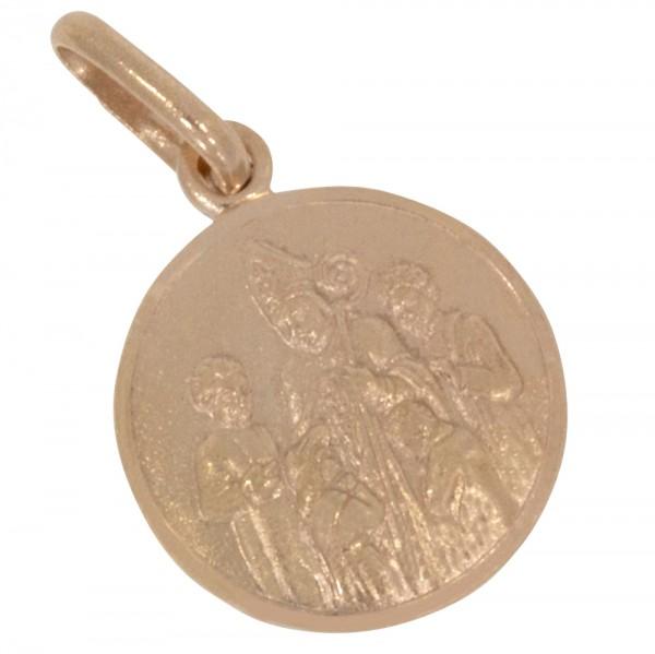 Konfirmation, Anhänger Silber 925 rosévergoldet