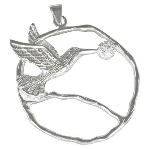 Kolibri Anhänger Silber 925