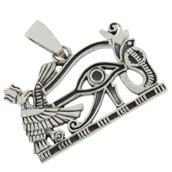 Horus Auge Anhänger Silber 925