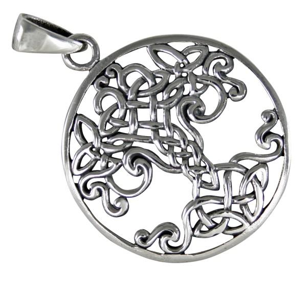 Lebensbaum Yggdrasil Anhänger Silber 925