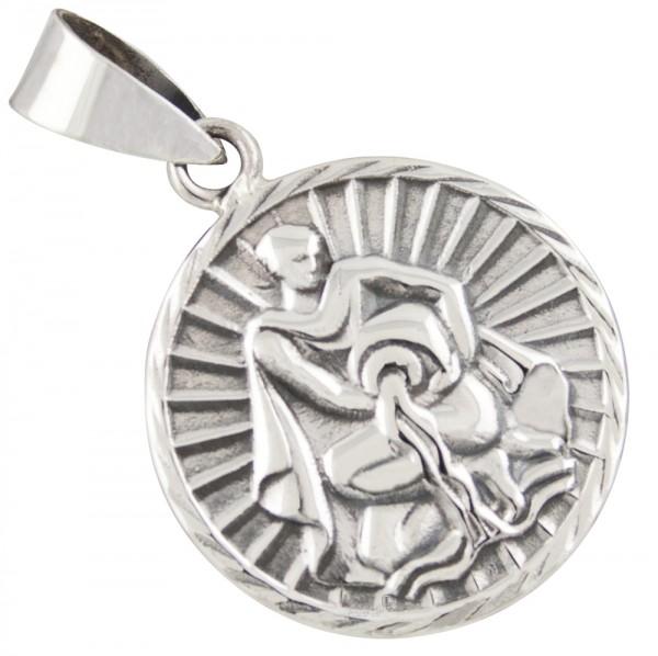Tierkreiszeichen Sternzeichen Wassermann, Anhänger Silber 925