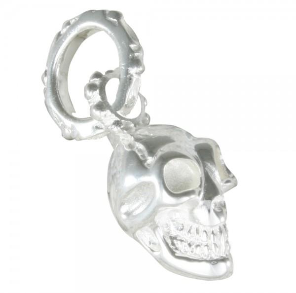 Skull Totenkopf Anhänger Silber 925