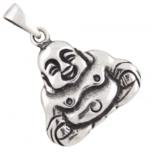 Buddha Anhänger Silber 925