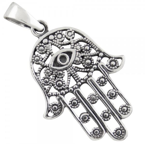 Hand der Fatima, Anhänger Silber 925