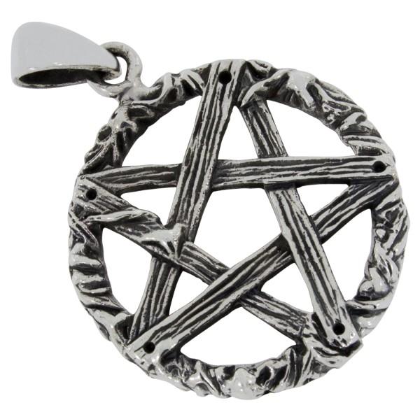 Pentagramm Anhänger Silber 925
