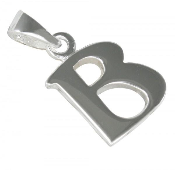 Buchstabe B, Anhänger Silber 925