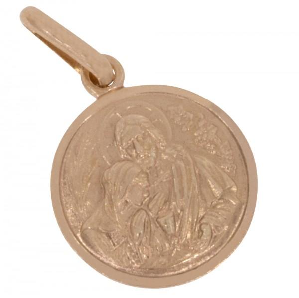 Heilige Kommunion, Anhänger Silber 925 rosévergoldet