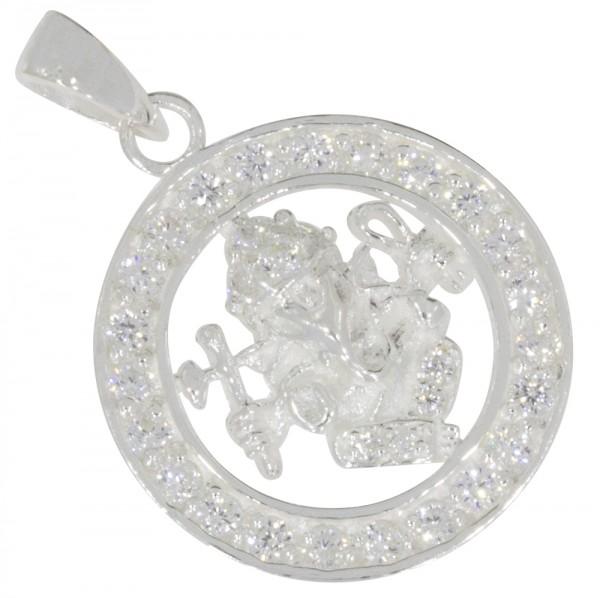 Ganesha Anhänger Silber 925