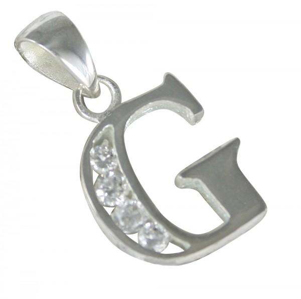 Buchstabe G, Anhänger Silber 925