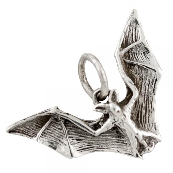 Fledermaus Anhänger Silber 925