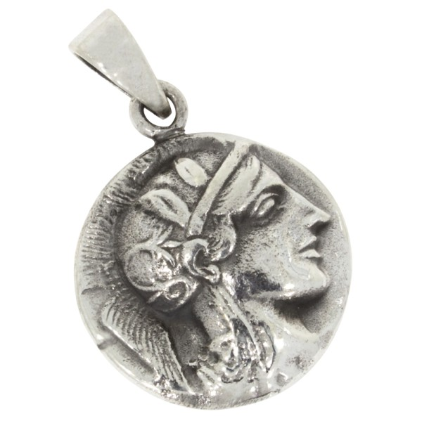 Münze Anhänger Silber 925
