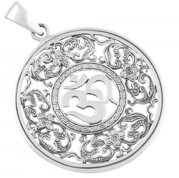 Aum, Om, Anhänger Silber 925
