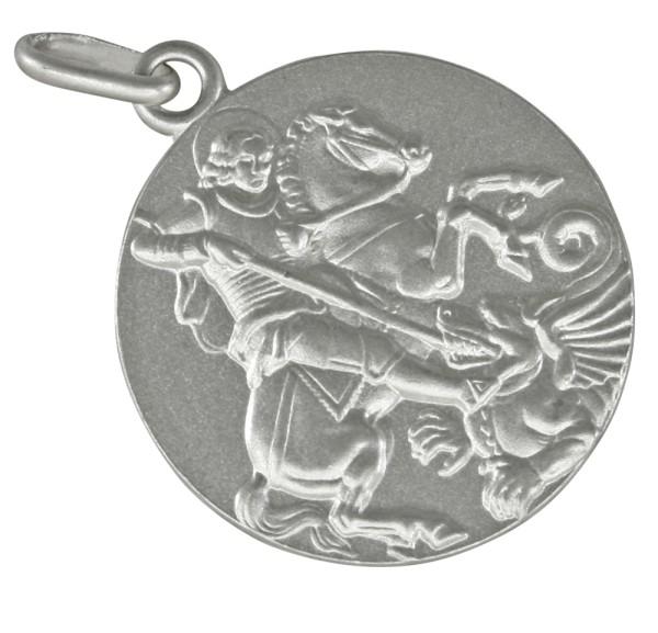 Heiliger Georg Drachentöter, Anhänger Silber 925