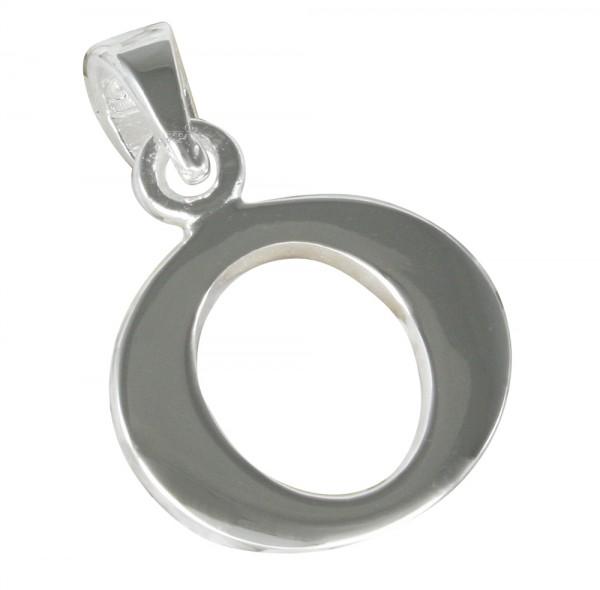 Buchstabe O, Anhänger Silber 925
