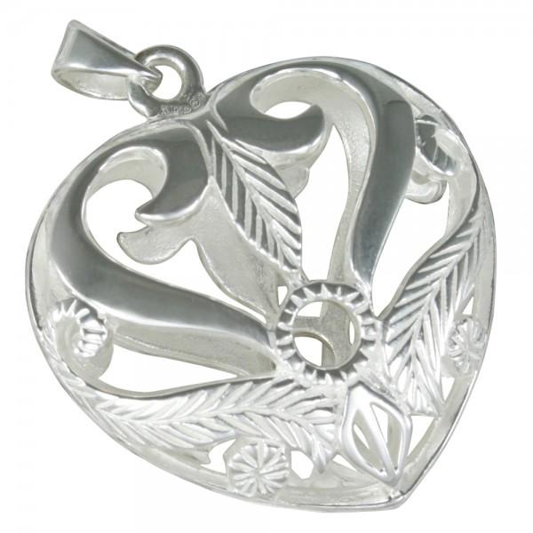 Herz Anhänger Silber 925
