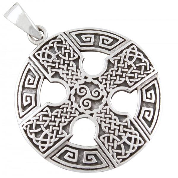 Keltisches Kreuz, Anhänger Silber 925