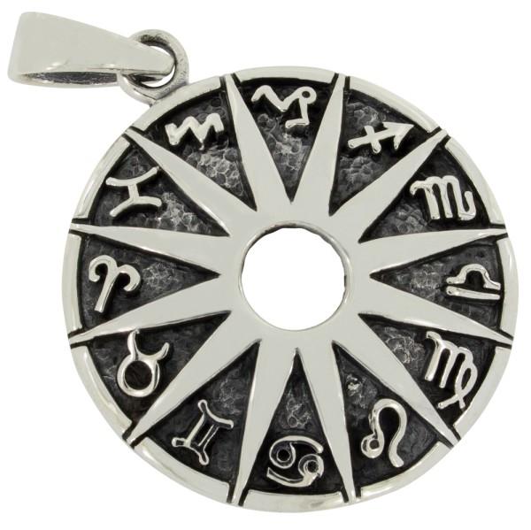 Tierkreiszeichen Anhänger Silber 925