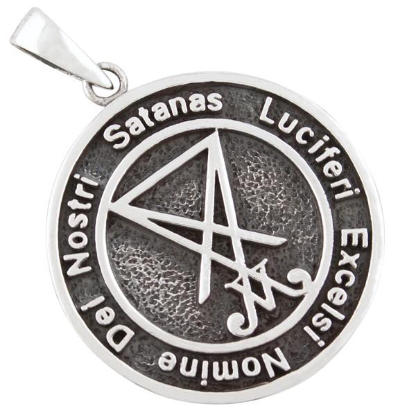 Satan Lucifer Anhänger Silber 925