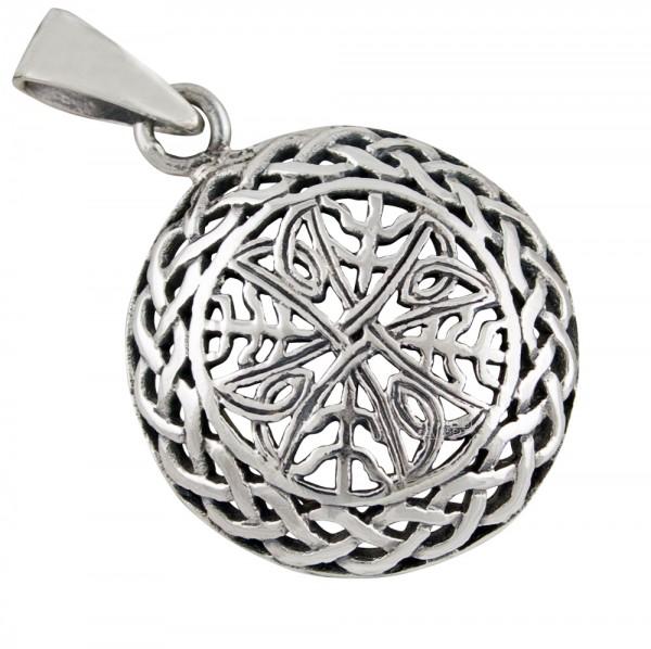 Keltischer Knoten, Anhänger Silber 925