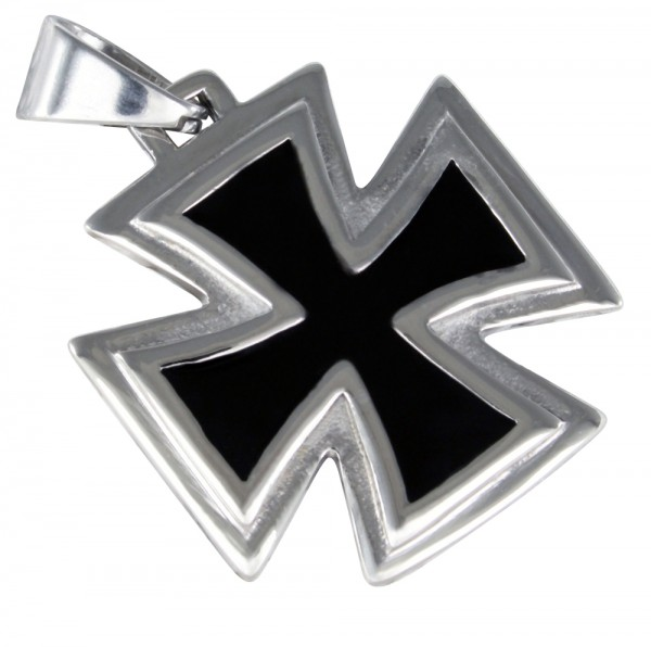 Eisernes Kreuz Anhänger, Edelstahl