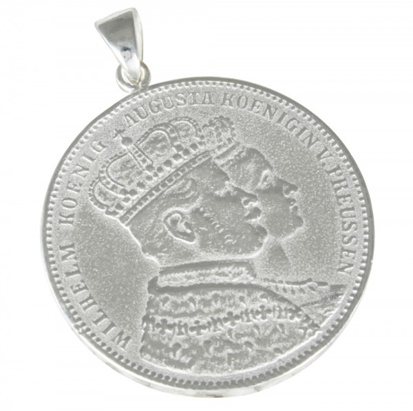 Krönungsthaler, Anhänger Silber 925