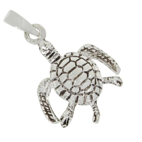Schildkröte Anhänger Silber 925