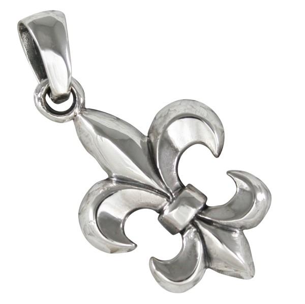 Fleur de Lis, Anhänger Silber 925