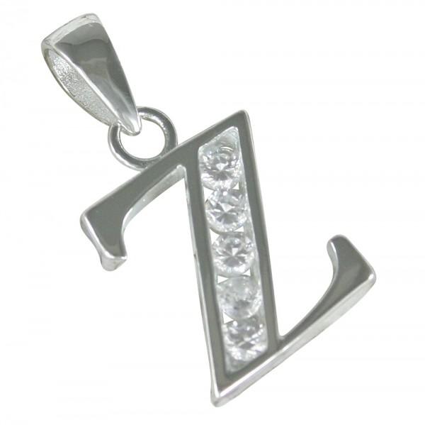 Buchstabe Z, Anhänger Silber 925