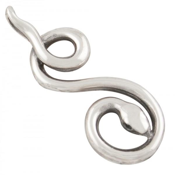 Schlangen, Anhänger Silber 925