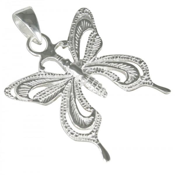 Schmetterling Anhänger Silber 925