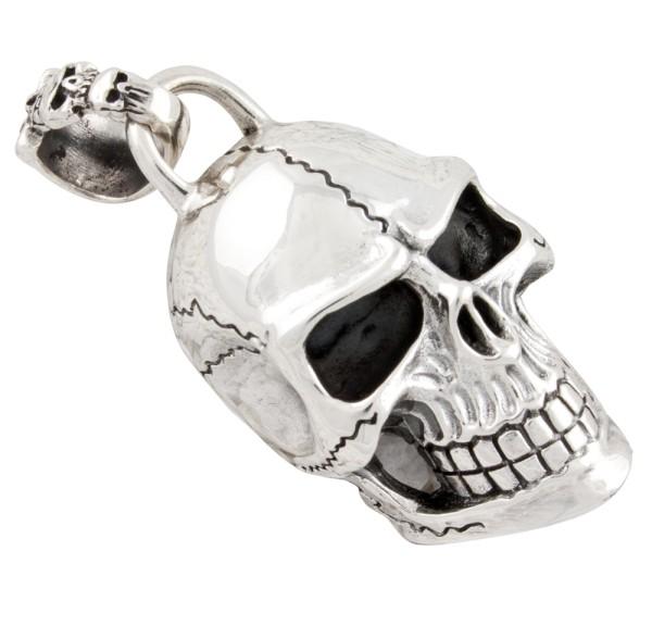 Skull, Totenkopf Anhänger Silber 925