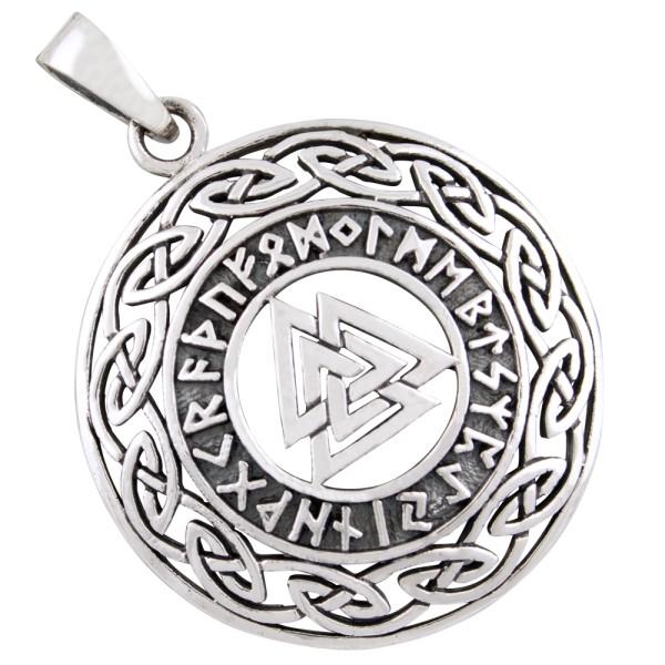 Wotansknoten Anhänger Silber 925