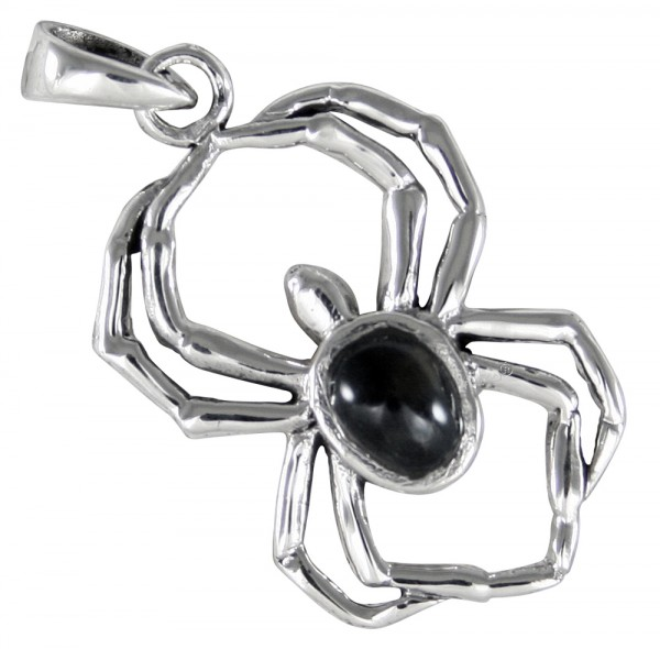 Spinne Anhänger Silber 925