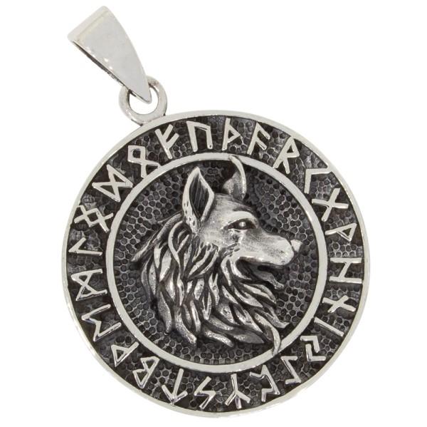 Fenriswolf Anhänger Silber 925