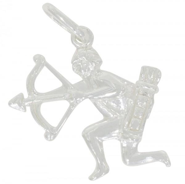 Tierkreiszeichen Sternzeichen Schütze, Anhänger Silber 925