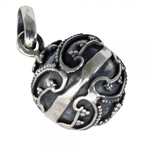 Silberkugel Anhänger Silber 925