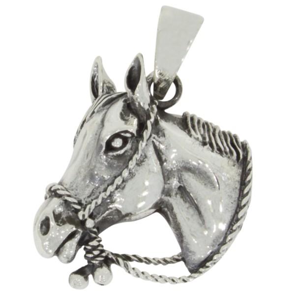 Pferd Anhänger Silber 925