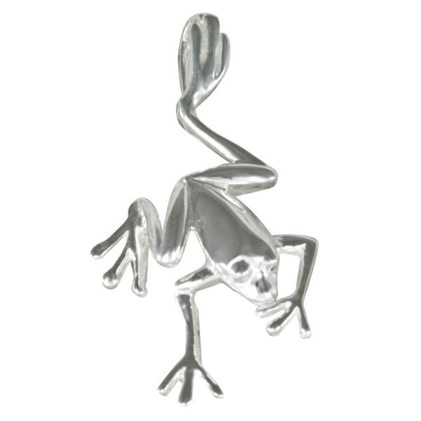 Frosch Anhänger Silber 925