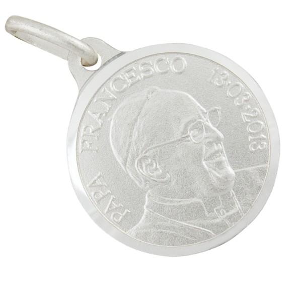 Papst Franziskus Anhänger Silber 925