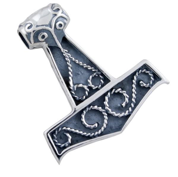 Thorshammer Anhänger Silber 925