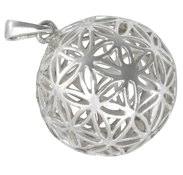 Blume des Lebens, Anhänger Silber 925