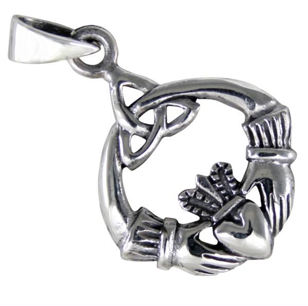 Claddagh Anhänger Silber 925