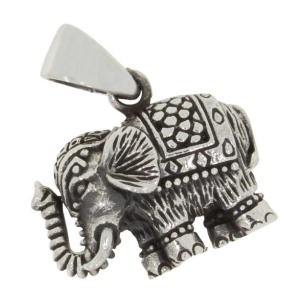 Elefant Anhänger Silber 925