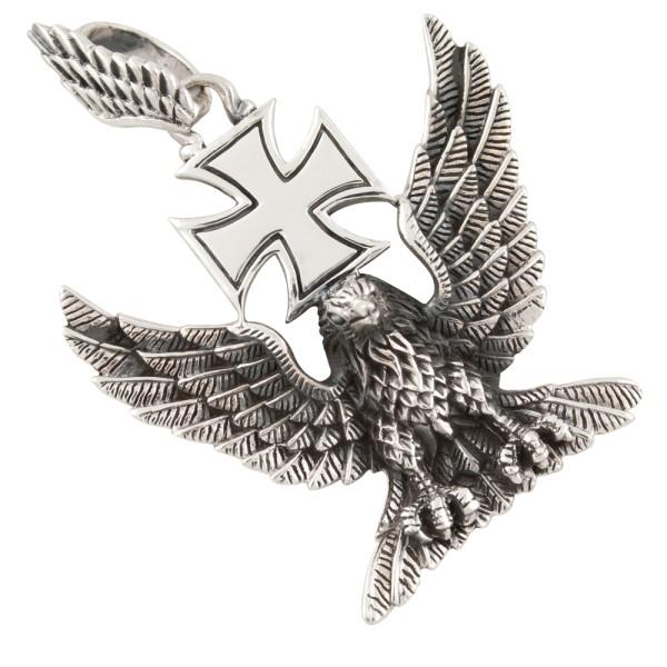 Großer Adler Anhänger Silber 925